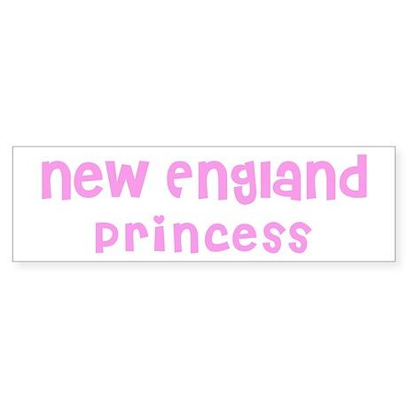 New England Princess Bumper Sticker