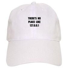 No Place Like Baseball Baseball Cap