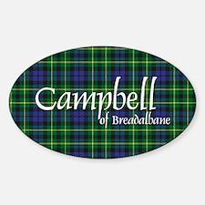 Tartan - Campbell of Breadalbane Sticker (Oval)