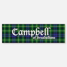 Tartan - Campbell of Breadalbane Sticker (Bumper)