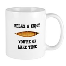 On Lake Time Mugs