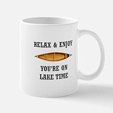 On Lake Time Mugs