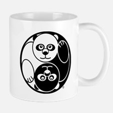Yin and Yang Panda Mug