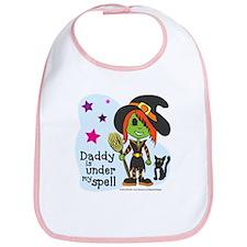 Witch (Daddy is under my spell) Bib