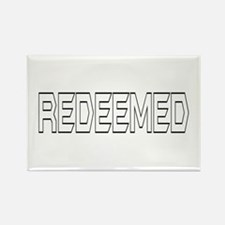 Redeemed Rectangle Magnet