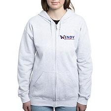 Texas Governor Butterfly Wendy Davis 2014 Zip Hood