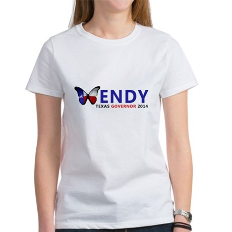 Texas Governor Butterfly Wendy Davis 2014 T-Shirt