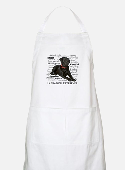 Black Lab Traits Apron