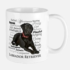 Black Lab Traits Mugs