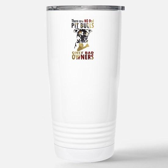 NO BAD PIT BULLS AF4 Travel Mug