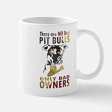 NO BAD PIT BULLS AF4 Mugs