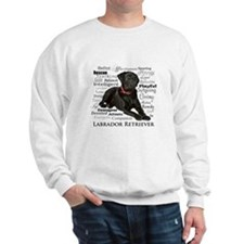 Black Lab Traits Sweatshirt
