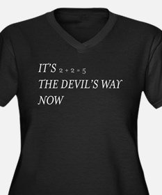 Hail to the Thief 2+2 Devils Way reverse Plus Size