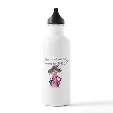 Hate Mornings Water Bottle