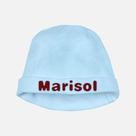Marisol Santa Fur baby hat