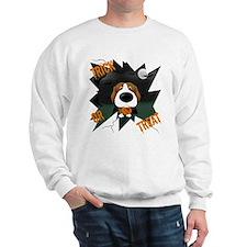 Beagle Vampire Halloween Sweatshirt