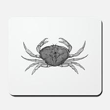 Dungeness Crab (line art) Mousepad