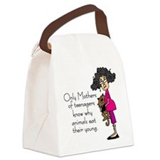 Mothers of Teenagers Canvas Lunch Bag