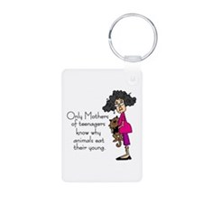 Mothers of Teenagers Keychains
