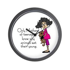 Mothers of Teenagers Wall Clock