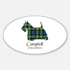 Terrier - Campbell of Breadalbane Sticker (Oval)