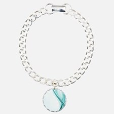 Contemporary Turquoise Streamers Bracelet