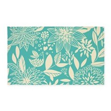 Flowers and Birds 3'x5' Area Rug