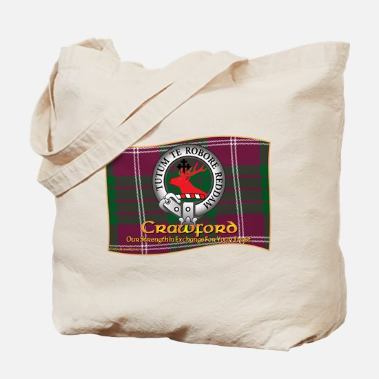 Crawford Clan Tote Bag