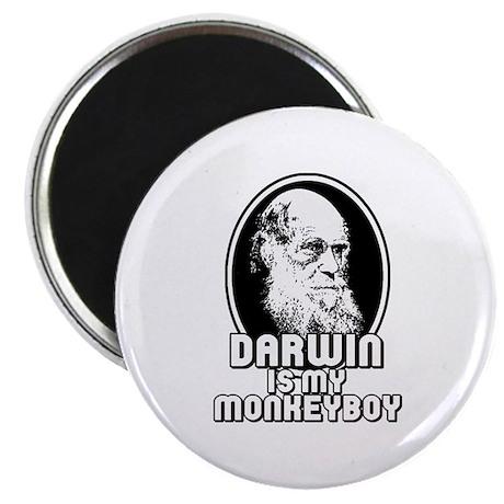 Darwin is my Monkeyboy Magnet