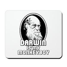 Darwin is my Monkeyboy Mousepad
