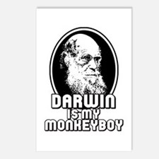 Darwin is my Monkeyboy Postcards (Package of 8)