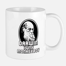 Darwin is my Monkeyboy Mug