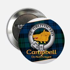 "Campbell Clan 2.25"" Button"