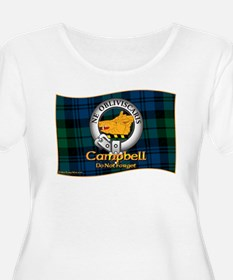 Campbell Clan Plus Size T-Shirt