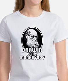 Darwin is my Monkeyboy Women's T-Shirt