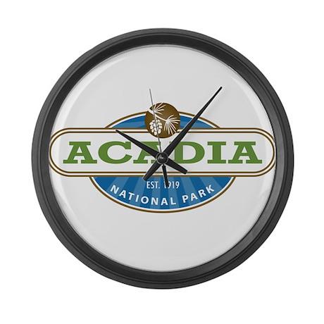 Acadia National Park Large Wall Clock