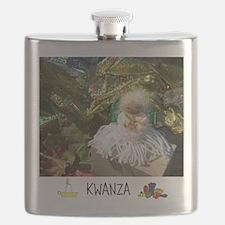 HAPPY HOLIDAYS KWANZA ANGEL. Flask