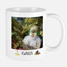 HAPPY HOLIDAYS KWANZA ANGEL. Mugs