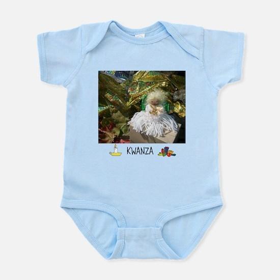 HAPPY HOLIDAYS KWANZA ANGEL. Body Suit