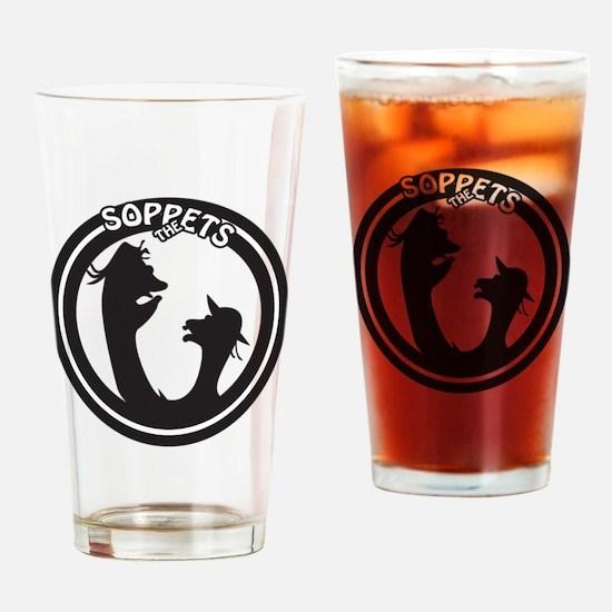 Soppets Logo Drinking Glass