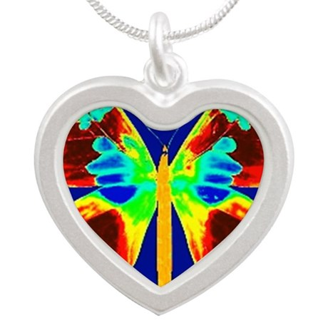 Rise Above Silver Heart Necklace