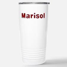 Marisol Santa Fur Stainless Steel Travel Mug