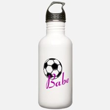 Soccer Babe Water Bottle