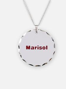 Marisol Santa Fur Necklace