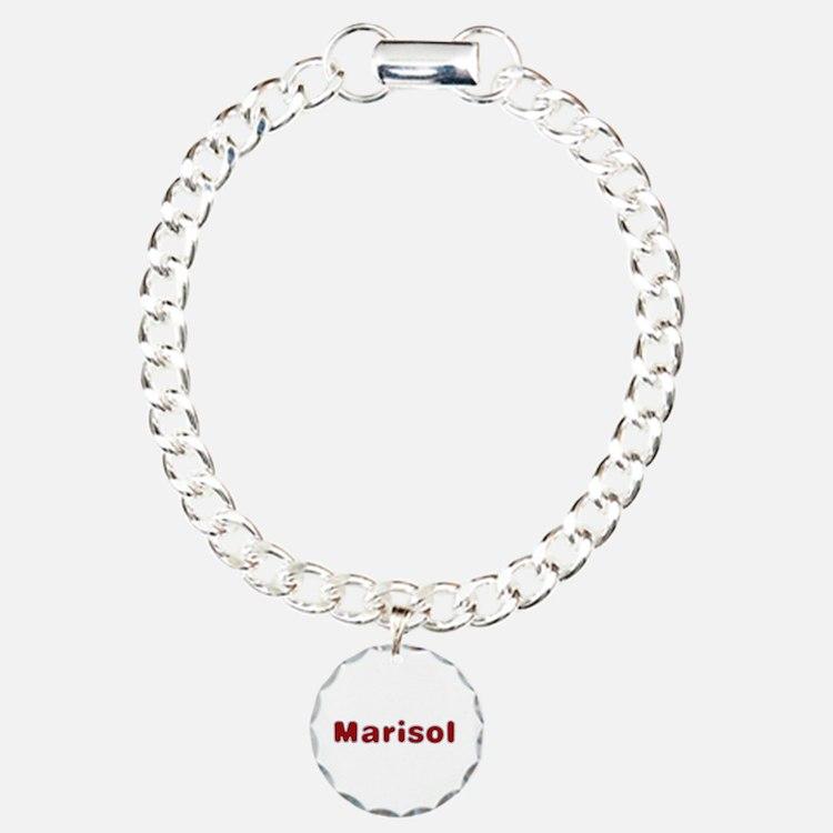 Marisol Santa Fur Charm Bracelet