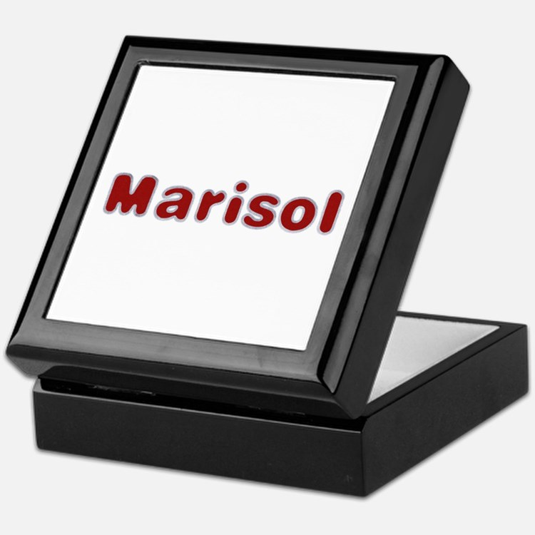 Marisol Santa Fur Keepsake Box