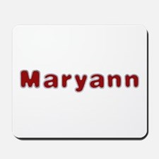 Maryann Santa Fur Mousepad