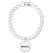 Mattie Santa Fur Bracelet
