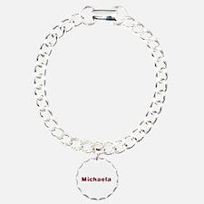 Michaela Santa Fur Bracelet