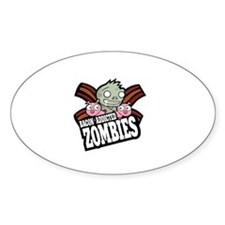 Bacon Addicted Zombies Decal